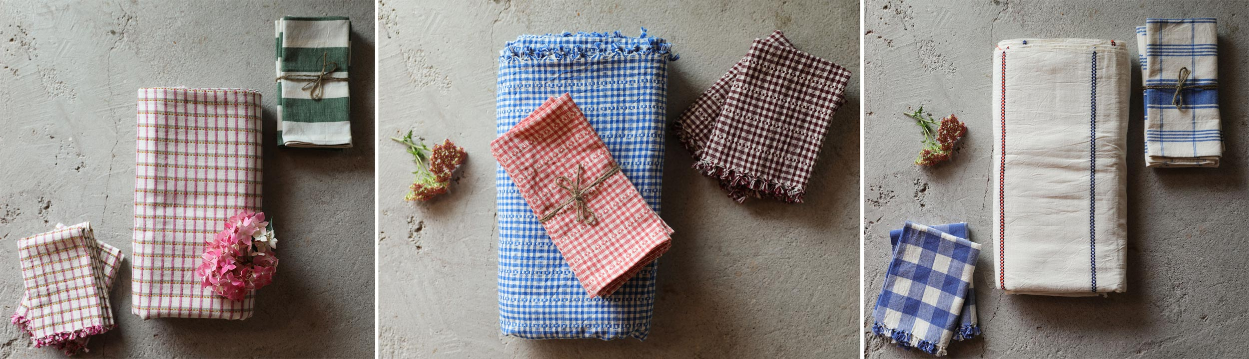 Check out our curated selection of summer linen combos.