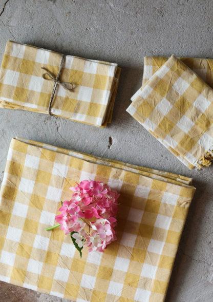 Linen-Bundle-Sunflower-Gingham