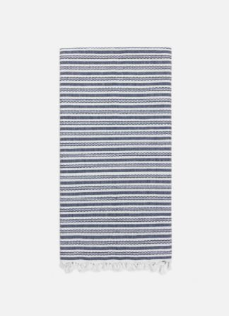 Canyon Navy Tea Towel