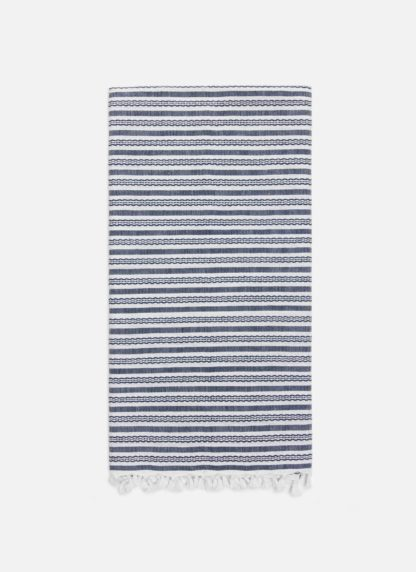 Canyon Navy Tea Towel