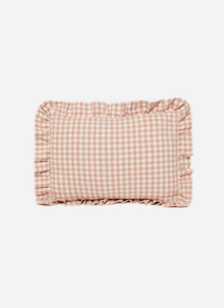MINI GINGHAM Blush Pillow Petite