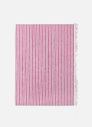 CANYON STRIPE Pink Tablecloth
