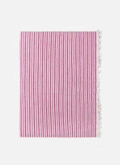CANYON STRIPE Pink Tablecloth