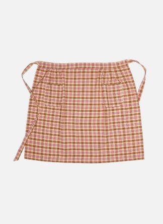 HTH x Doen Austen Plaid apron