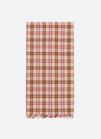 HTH X DOEN Austen Plaid Tea Towel