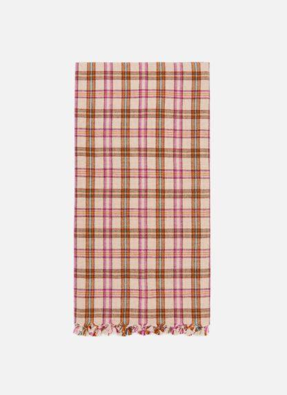 HTH X DOEN Austen Plaid Tea Towel