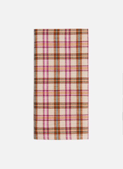 hth x doen austen plaid set of four napkins
