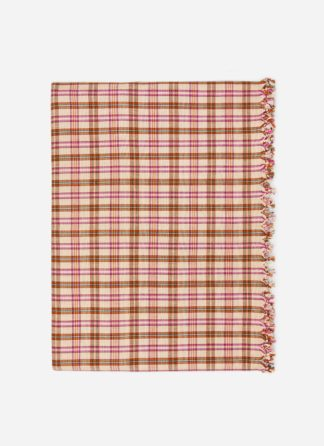 hth x doen austen plaid tablecloth