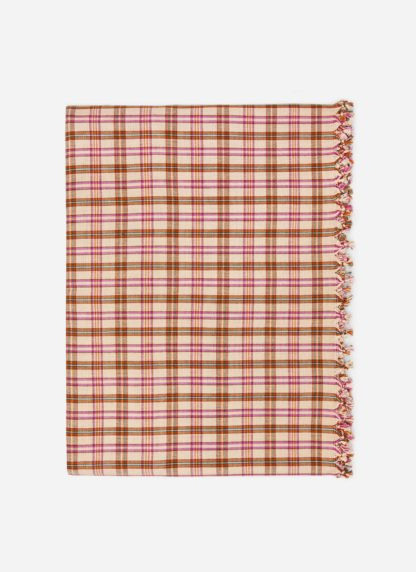 hth x doen austen plaid tablecloth