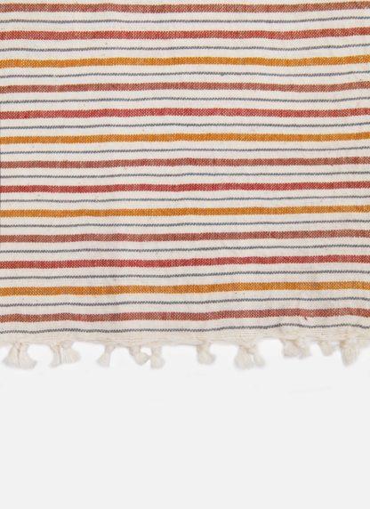 MULTISTRIPE DISH TOWEL IN NATURAL COLORS