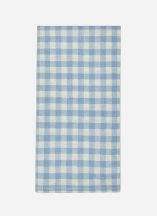 MINI GINGHAM BLUE NAPKIN