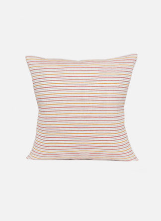 MULTISTRIPE PILLOW IN NATURAL COLORS