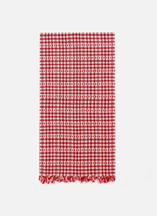 SOHO RED TEA TOWEL