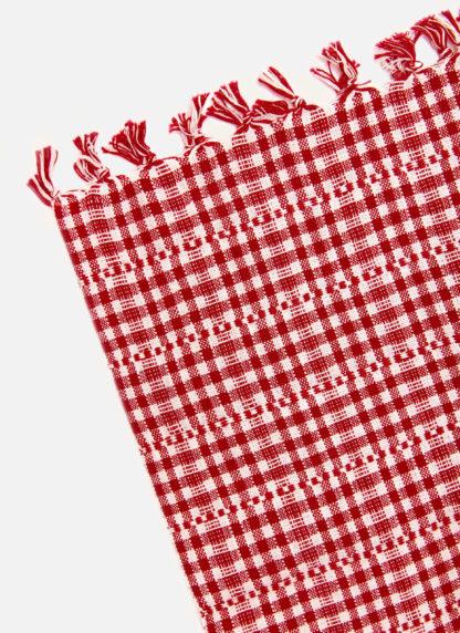 SOHO RED TEA TOWEL