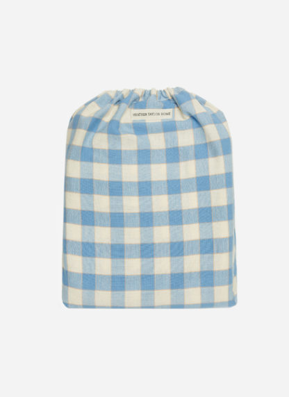 GINGHAM BLUEBELL DUVET COVER