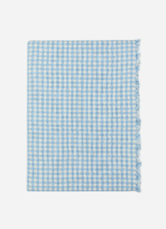 MINI GINGHAM BLUE TABLECLOTH