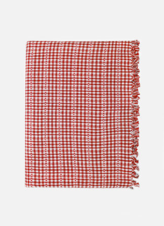 SOHO RED TABLECLOTH