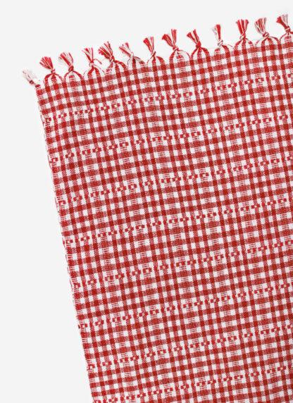 SOHO RED TABLECLOTH