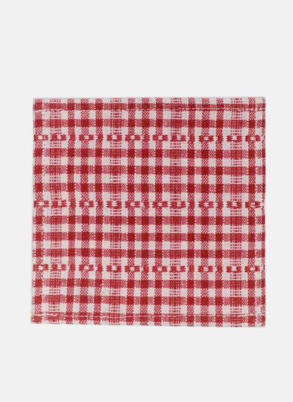 soho red cocktail napkins
