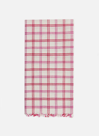 MAYFAIR PLAID VALENTINE TEA TOWEL