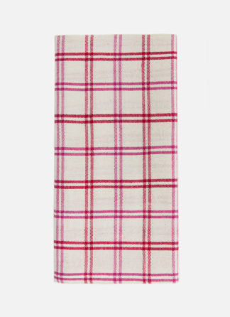 mayfair plaid valentine napkins