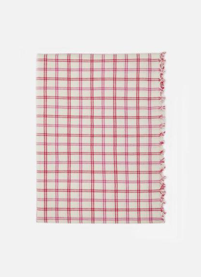 mayfair plaid valentine tablecloth