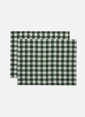 GINGHAM HUNTER PILLOW SHAMS
