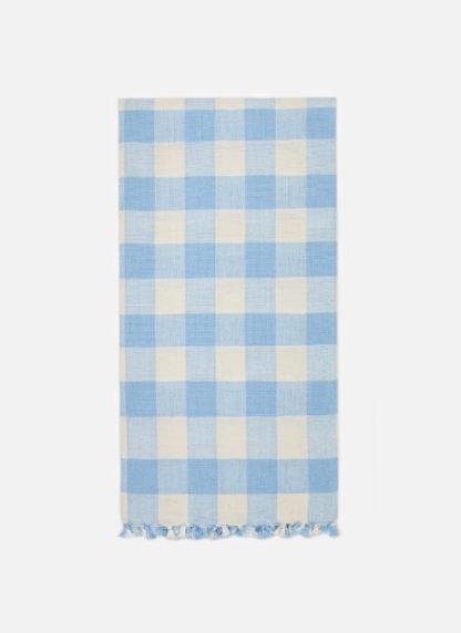 Gingham Baby Blue Tea Towel