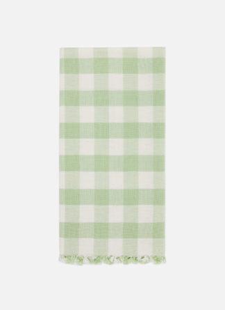 Gingham Honeydew Tea Towel