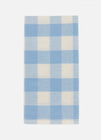 GINGHAM BLUE NAPKINS