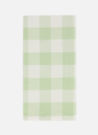 gingham honeydew napkin