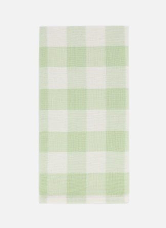 gingham honeydew napkin