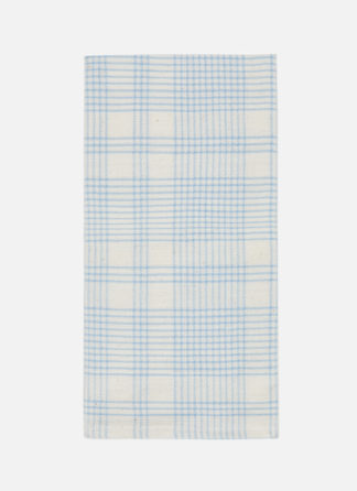 Marianne Plaid Blue Napkin